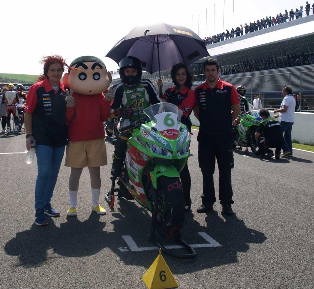 Moto Shin chan en Montmeló